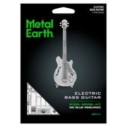 maquette métal earth 12-14 ans - guitare basse - métal earth