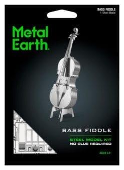 maquette métal earth 12-14 ans - bass de violon - métal earth