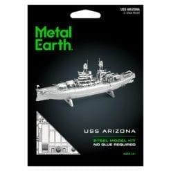 maquette métal earth 12-14 ans - bateau uss arizona - métal earth
