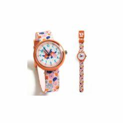 montres et réveils - montre fleurs - djéco - la maison de zazou
