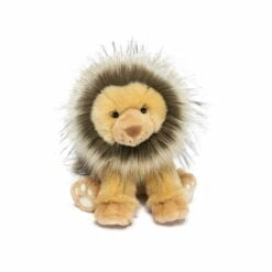 peluche kénya le lion - 25 cm - histoire d'ours