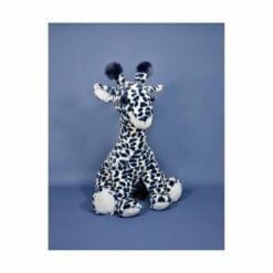 peluche lisi la girafe bleue - 50 cm - histoire d'ours