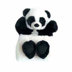 peluche marionnete panda - 25 cm - histoire d'ours