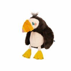 peluche oiseau macareux - 30cm - tout autour du monde - moulin roty - la maison de zazou