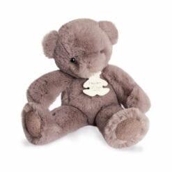 peluche ours poudré - 15 cm - histoire d'ours