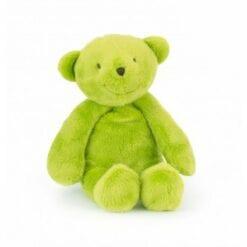 peluche ours - vert 30cm -les p'tits doudous de l'hôpital  - moulin roty