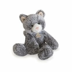 peluche sweety mousse chat - 25 cm - histoire d'ours