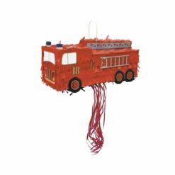 pinata camion de pompiers  - tim&puce factory - la maison de zazou