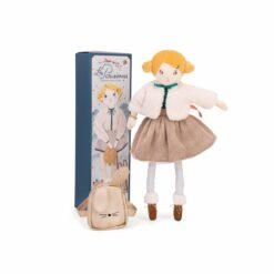 poupée melle eglantine - 39 cm  - les parisiennes - moulin roty - la maison de zazou