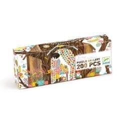 puzzle 200 pièces - gallery - tree house - fsc mix - djéco