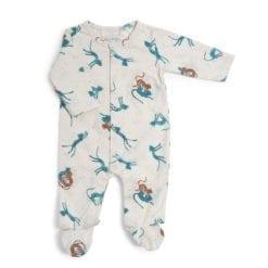 Pyjama bébé - 3m jersey crème allover guépards - Sous mon baobab - Moulin Roty