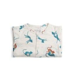 Pyjama bébé - 6m jersey crème allover guépards - Sous mon baobab - Moulin Roty