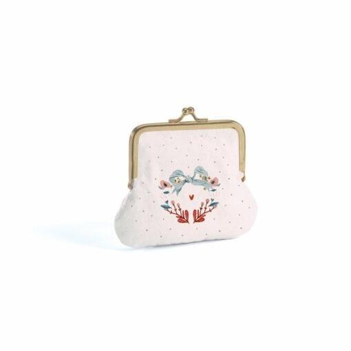 sac et porte monnaie enfant -  chats -lovely  paper - djéco