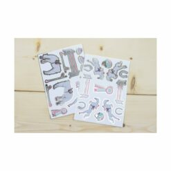 stickers cheval d'amour  - tim&puce factory - la maison de zazou