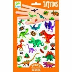 tatouages enfant djeco - dino club - djéco