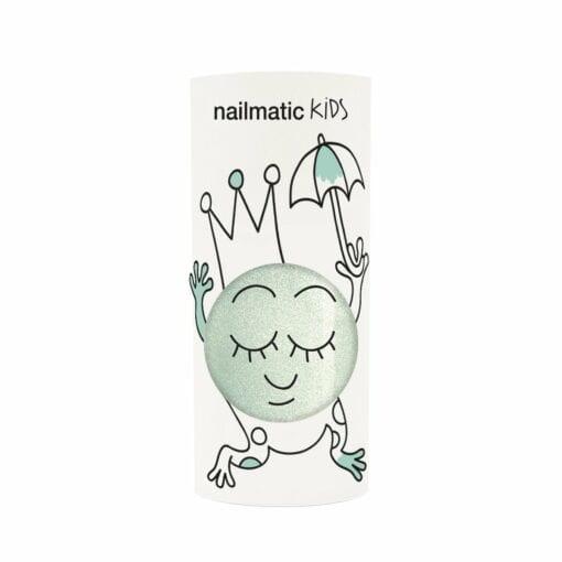 vernis à l'eau 4 ans - aldo vert nacre - nailmatic